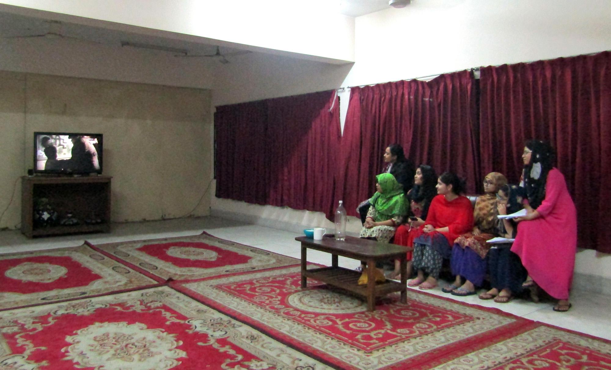 Hostel TV-Room