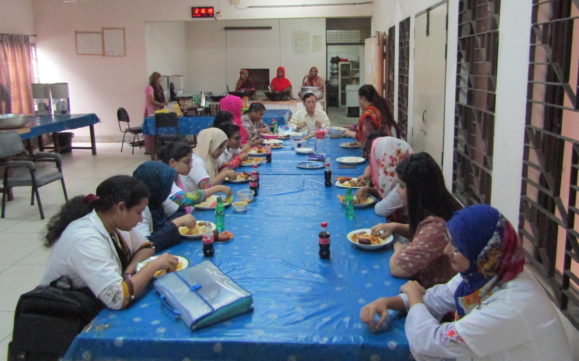 Hostel Dinning Room